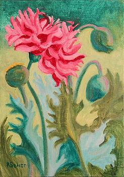 Ruth Soller - Poppy Abstract