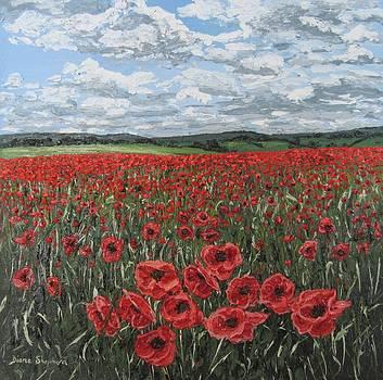 Poppy Field by Diana Shephard