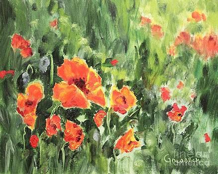 Poppy Field by Kathy Lynn Goldbach