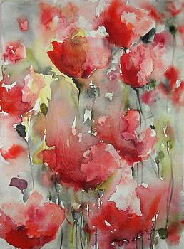 Poppy Field V by Karin Johannesson
