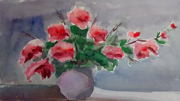Poppy flowers by Mimi Boothby