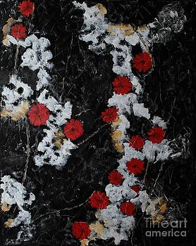 Barbara Griffin - Poppy Jasper Stone Painting 2
