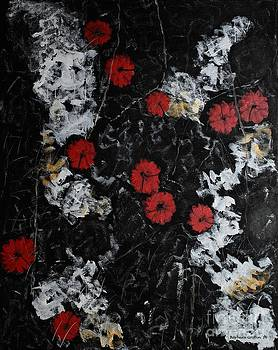 Barbara Griffin - Poppy Jasper Stone Painting