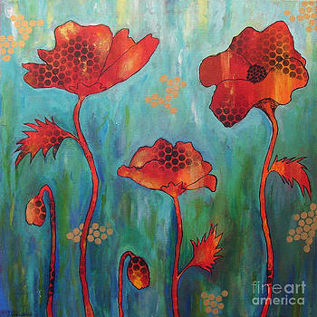 Poppy Passion by Jackie Cleveland