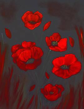 Poppy Power. by Cynthia Adams
