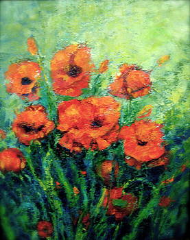 PoppyBouquet by Marie Hamby