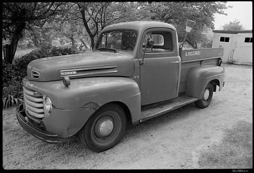 Pop's Pick-up Truck by David Riccardi