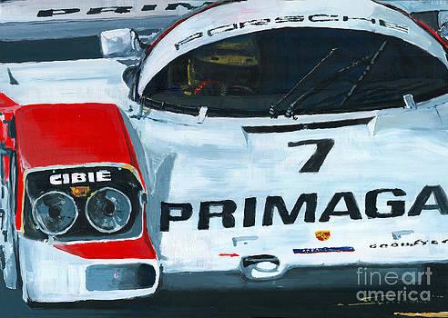 Porsche 962 Le Mans 24 by Yuriy Shevchuk