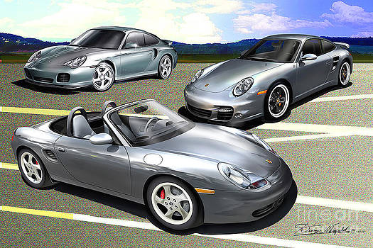 Porsche a trio of excitement by Danny Whitfield