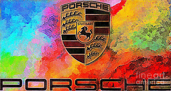 Scott B Bennett - PORSCHE IN ABSTRACT