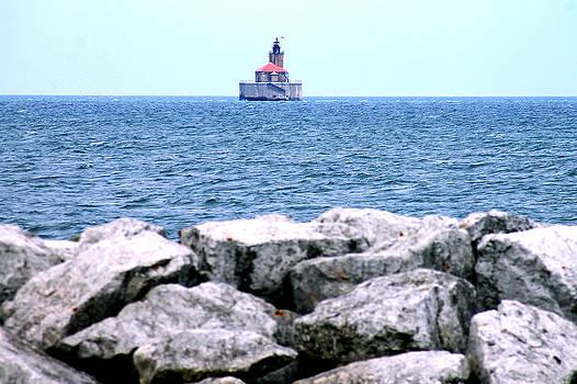 Port Austin Michigan Lighthouse by Danielle Allard