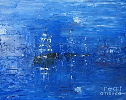 Port by Bozena Chmielewska