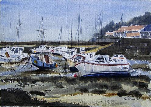 Port De Vendee Jarde Sur Mer France by Dominique Serusier