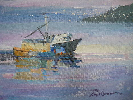 Port Hardy Boats by Ron Wilson