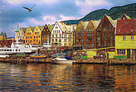 Steve Harrington - Port Life - Paint