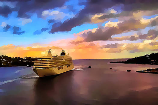 Port of Call St.Kitts by Errol Wilson
