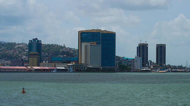 Port-of-Spain from the Boat by Christian Hume