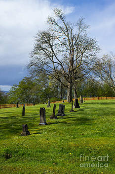 Port Townsend Cemetery by Deanna Proffitt