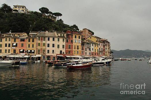Portafino Italy  by Diane Greco-Lesser
