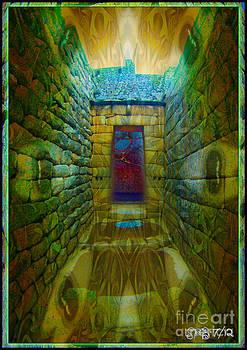 Portal at Machu Picchu by Shawn  Bowen