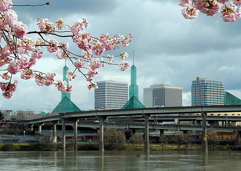 Portland Blossoms by Mamie Gunning