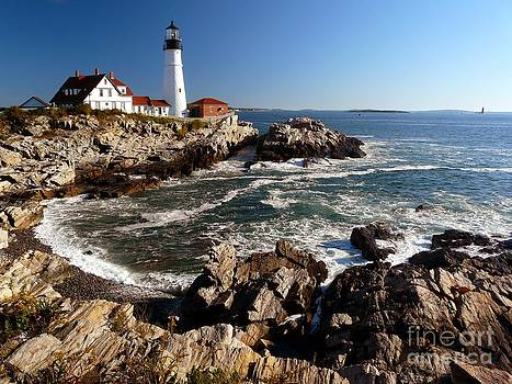 Christine Stack - Portland Headlight Lighthouse in Maine Traditional