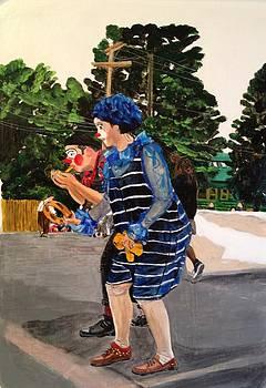 Portland Jr. Parade 4 by Lynette Berry