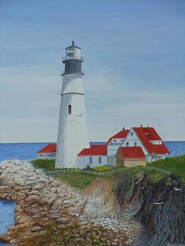 Portland lighthouse by James Lawler