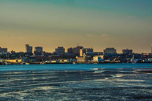 Portland Maine Sunset by Jason Brow