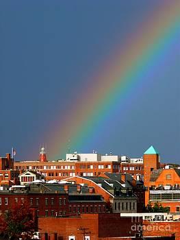 Christine Stack - Portland Observatory Rainbow