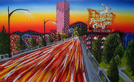 Portland Oregon Sign 16 by Portland Art Creations
