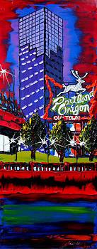 Portland Oregon Sign 58 by Portland Art Creations