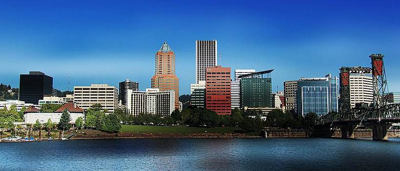 Aaron Berg - Portland Oregon Skyline