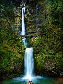 Portland Waterfall by Cary Shapiro