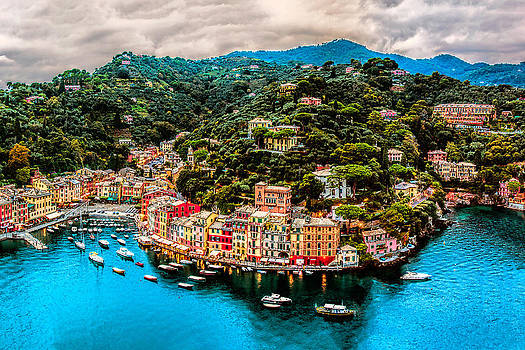 Portofino Italy 40 x 60 by Paul James