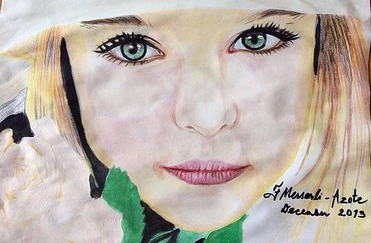 Portrait 1 by Fladelita Messerli-
