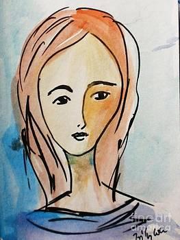 Portrait 3 by Trilby Cole