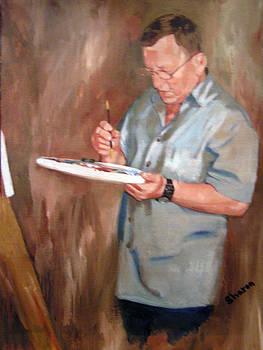 Henryk Gorecki - Portrait author Sharon Burger