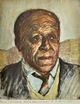 Portrait Beauford Delaney by James LeGros