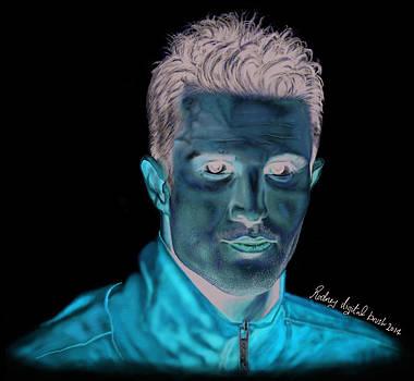 Portrait for Robin Van persie by Kawaayi Rodney