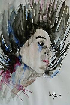Portrait- Girl by Ismeta Gruenwald