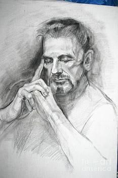 Portrait  m by Victoria Tekhtilova