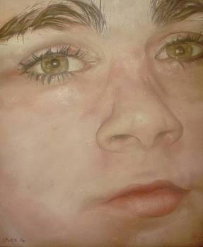 Portrait of a Boy by Cherise Foster