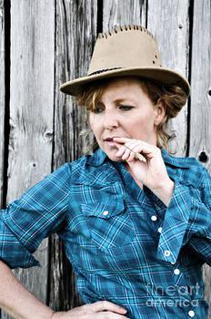 Sophie Vigneault - Portrait of a Cowgirl