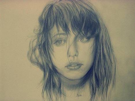Portrait of a Girl by Arion Khedhiry