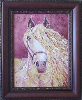 Portrait of a horse by Nina Mitkova
