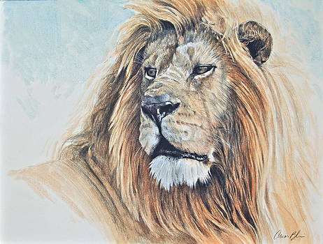 Portrait of a King by Aaron Blaise