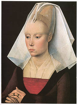 Workshop of Rogies Van Der Weyden - Portrait of a Lady