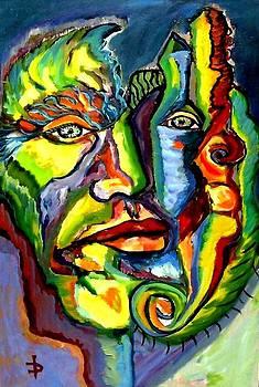 Portrait of a Man by Daniela Isache