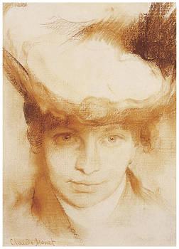 Claude Monet - Portrait of a Woman